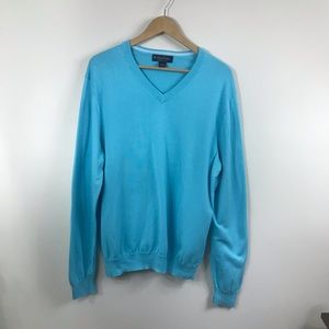Brooks Brothers Sweaters - BROOKS BROTHERS | Supima Cotton L V Neck Sweater